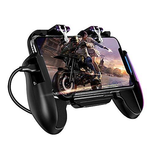 manette pc Console de jeu mobile console de jeu ventilateur de refroidissement feuPubgconsole de jeu mobile console de jeu console de jeu joystick métalL1 R1déclencheur
