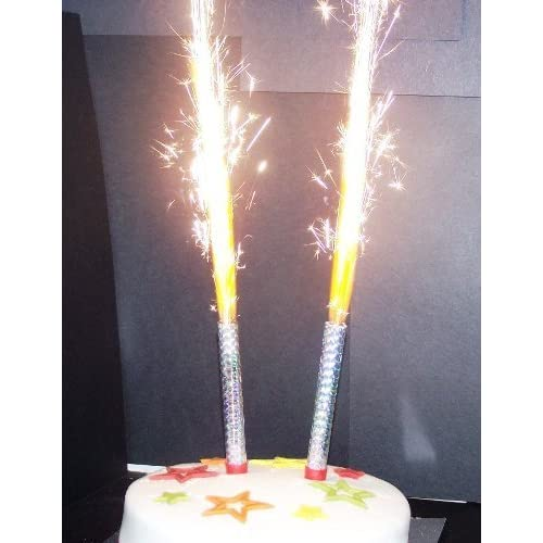 Prime Birthday Cake Sparklers Amazon Co Uk Funny Birthday Cards Online Alyptdamsfinfo