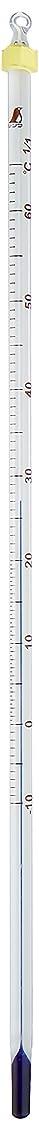 再編成する内陸鍔シンワ測定 棒状温度計 アルコール H-7 -10~65℃ 30㎝ 青色感温液 72577