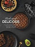 Zoom IMG-1 piastra per waffle belga aicook