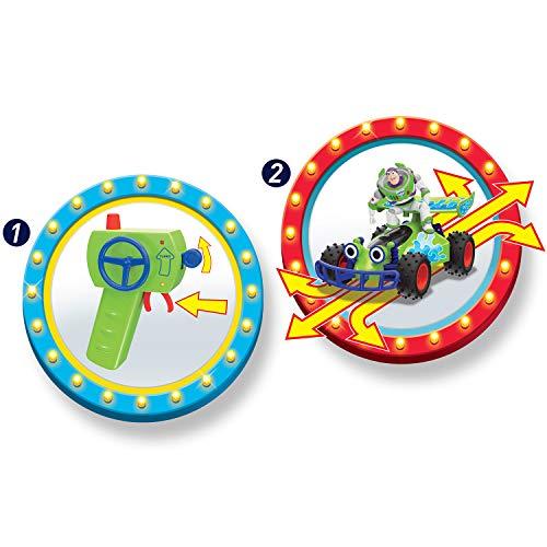 RC Auto kaufen Buggy Bild 4: Dickie Toys 203154000 RC Buggy with Buzz, ferngesteuertes Spielzeug, Toy Story Fahrzeug mit Funksteuerung, für Kinder ab 4 Jahren, Mehrfarbig*