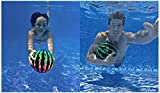 Watermelon Ball Combo Pack | The Ultimate Swimming Pool Game | Pool Ball for Under Water Passing, Dribbling, Diving and Pool Games for Teens, Kids, or Adults