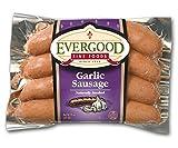 Evergood Garlic Sausage 13 Oz (4 Pack)