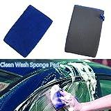 ACHICOO Autowaschhandschuhe, Clay Mitt Cloth Care Reinigungstuch Mikrofaser Auto Reinigung Schwammhandschuhe