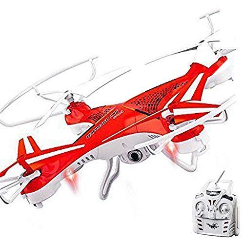 Attop  - Drone Quadricottero 2.4G - Headless Mode - - 2.0 MP fotocamera - Rotazione 360 ° - 5 LED