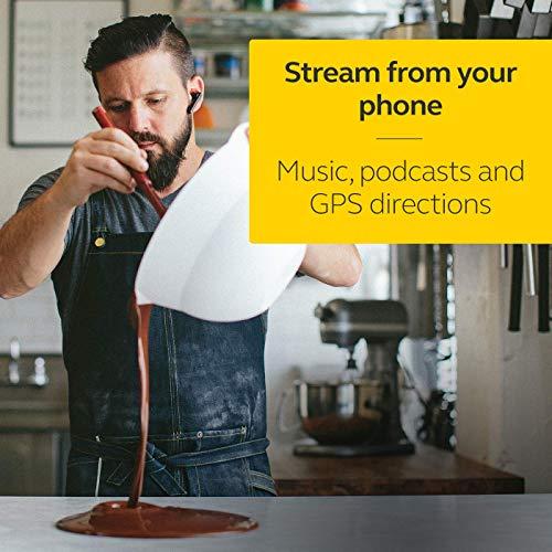 Jabra Talk - Auriculares Bluetooth para Llamadas Manos Libres con diseño intuitivo y Uso Sencillo