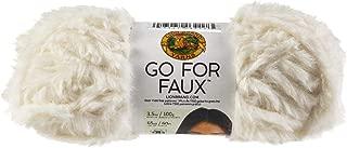 Lion Brand Yarn Go for Faux Yarn-Baked Alaska