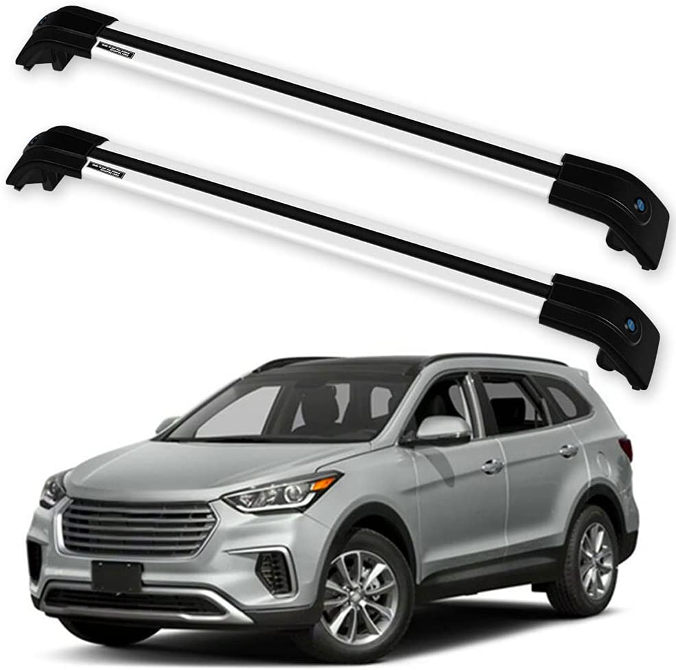OCPTY Roof Rack Cross Limited time for free shipping Bar Cargo Hyundai New mail order Carrier Fe Santa Fit