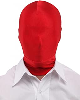 red zentai mask