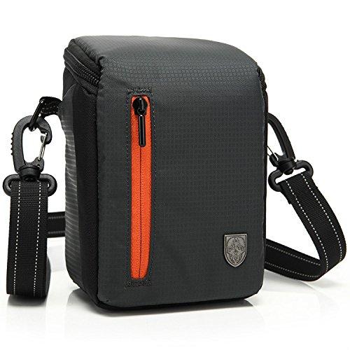 First2savvv BDV2501 negro calidad de lujo bolsa impermeable de Cámara acolchada bolsa...