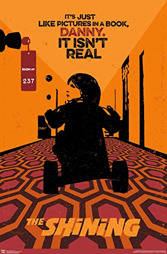 """Trends International Stanley Kubrick's The Shining - Danny Wall Poster, 22.375"""" x 34"""", Unframed Version"""