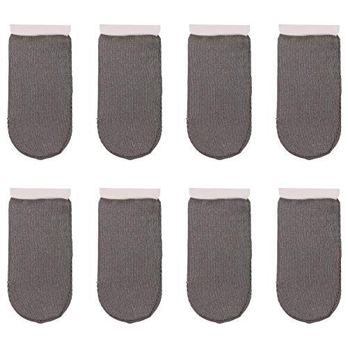 Hemobllo 8 protectores de dedos para mando de juegos móvil, transpirables, antisudor, pantalla táctil suave, para tabletas de teléfono móvil (tipo normal)