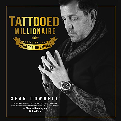 Tattooed Millionaire audiobook cover art