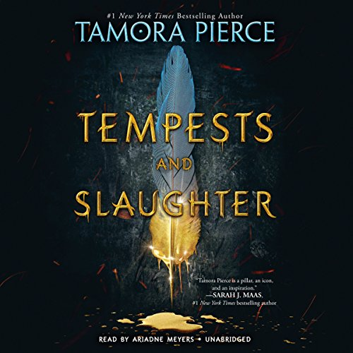 Tempests and Slaughter audiobook cover art