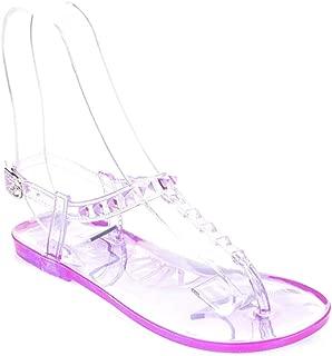 Pembe Potin Lila Kadın Sandalet