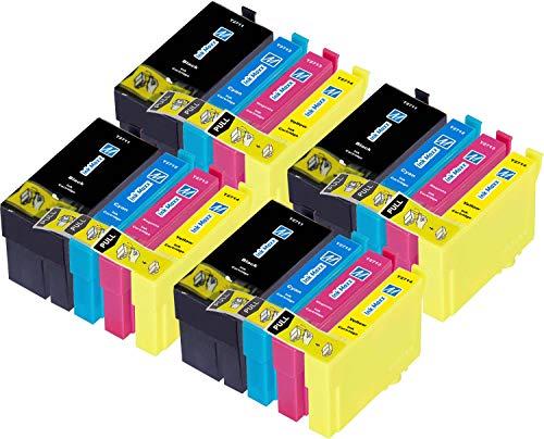 Ink Maxx Paquete de 16 27XXL XL Cartucho de Tinta Compatible para Usar en Lugar...