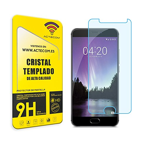 ACTECOM CRISTAL TEMPLADO PROTECTOR PANTALLA 0.2MM PARA MEIZU MX6