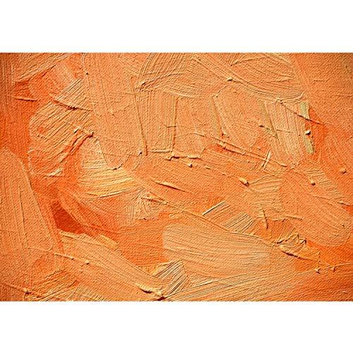 Vlies Fototapete PREMIUM PLUS Wand Foto Tapete Wand Bild Vliestapete - WALL OF ORANGE SHADES - Abstrakt Hintergrund Dekoration Wand Spachtel farbige Wand orange - no. 108, Größe:400x280cm Vlies