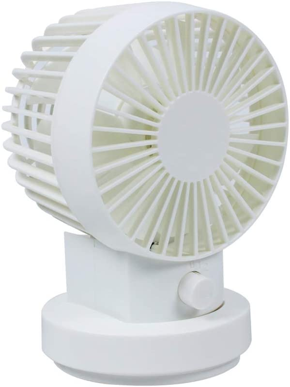 Casa exterior Ventilador Eléctrico, Mini Refrigerador De Aire Portátil, Carga Por USB, Velocidad Del Viento De Dos Velocidades, Ángulo Ajustable, Adecuado Para La Sala De Estar Del Dormitorio De La Of