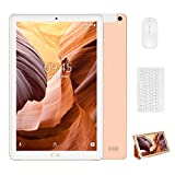Tablette Tactile 10 Pouces, YESTEL X2 tablettes Android 8.1 3GB+32GB 4 core 8000mAh, 1280X800 HD IPS, 4G WIFI/Dual SIM, FM, Type-C-Oro