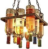 Corridoio navate ZAQXSW Lampadari allaperto Balcone impermeabile luci patio lampadari in bronzo Led Decorative
