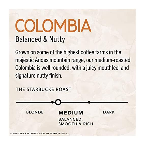 Starbucks VIA Ready Brew Colombia Coffee, 50-Count 8 Made only with high-quality arabica coffee beans Starbucks via instant Italian Roast coffee is roast and sweet with a rich, deep flavor and notes of caramelized sugar Just tear open a packet of Starbucks via instant Italian Roast coffee, add hot water, wait 10 seconds and stir. No coffee machine or grinder needed
