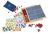 Dal Negro-55757-Dal Negro Tombola 48 legno Gioco Da Tavolo, Colore naturale, 55757