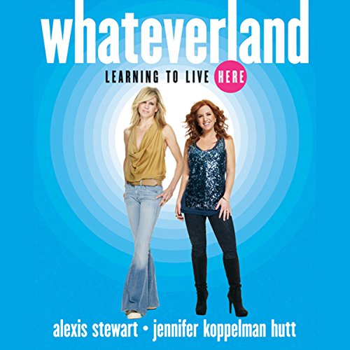 Whateverland audiobook cover art