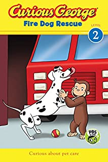 Curious George Fire Dog Rescue Level 2 by H. A. Rey - Paperback