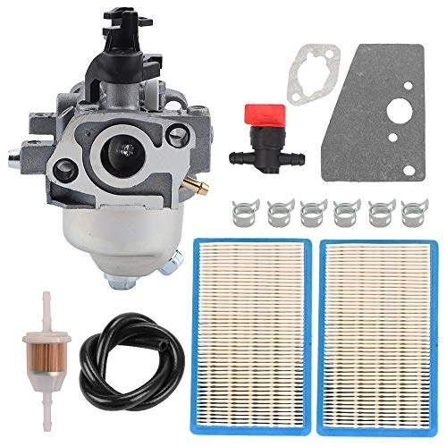 Savior 14 853 49-S Carburetor with 14 083 01-S1 Air Filter for Kohler XT650 XT675 XT149 XT173 XT800 Lawn Mower 14 853 36-S 14 853 49-S 14 853 43-S 14 853 47-S 14 853 59-S 14 853 21-S Toro 20370