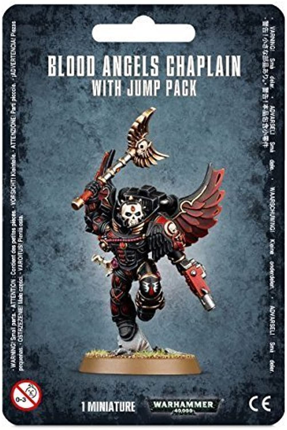 Warhammer 40k Blood angels Chaplain with Jump Pack by by by Warhammer a5f051