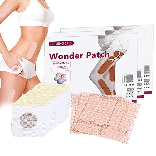 Abnehmen Patches, 28 PCS Fettverbrennung Slim Patch, Weight Loss Sticker, Slimming Wonder Patch für Bauch Arme und Oberschenkel, Anti Cellulite & Fat Burning
