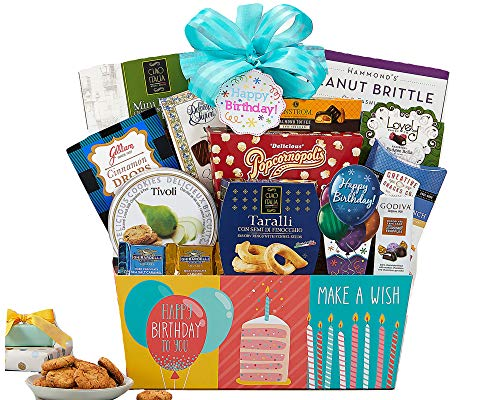 Happy Birthday Gift Basket by Wine Country Gift Baskets