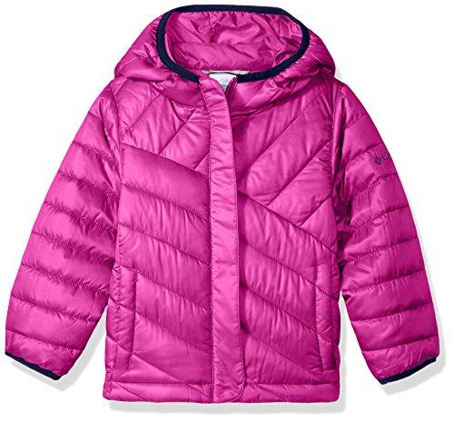 Columbia Boys' Big Powder Lite Puffer Jacket, Deep Blush, Medium