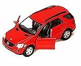 Mercedes Benz ML-Class SUV, Red - Kinsmart 5309DD - 5' Diecast Model Toy Car, but NO BOX