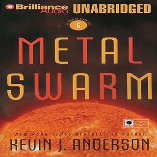 Metal Swarm audiobook cover art