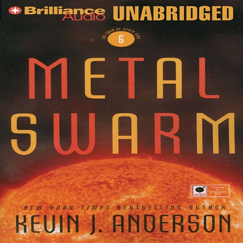 Metal Swarm audiobook cover art