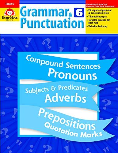 Compare Textbook Prices for Grammar and Punctuation, Grade 6  ISBN 9781557998507 by Evan Moor,Evan-Moor