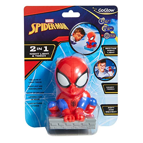 Spider-Man-Luce notturna e torcia GoGlow Buddy