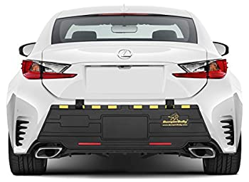 Gold Edition Bumper Bully Extreme - The Ultimate Outdoor Bumper Protector Rear Bumper Guard Extreme Bumper Protection Steel Reinforced Straps Prevent Theft !