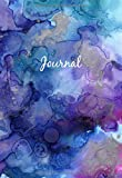 Dot Grid Journal A6 - Mini Notizbuch: Blanko Heft Für Bullet Journaling | Dotted Notebook | 110 Punktraster Seiten | Soft Cover Aquarell