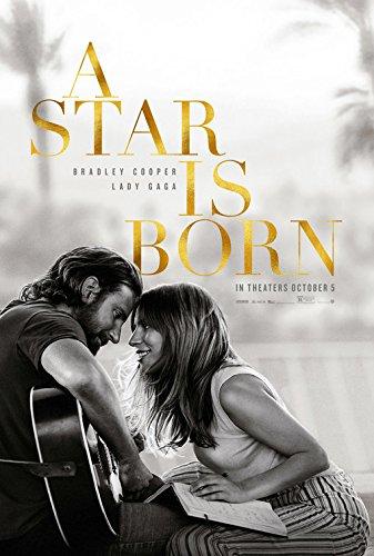 A STAR IS BORN (2018) Original Movie Poster 27x40 - w/credits - Dbl-Sided - Bradley Cooper - Lady Gaga - Sam Elliott - Bonnie Somerville