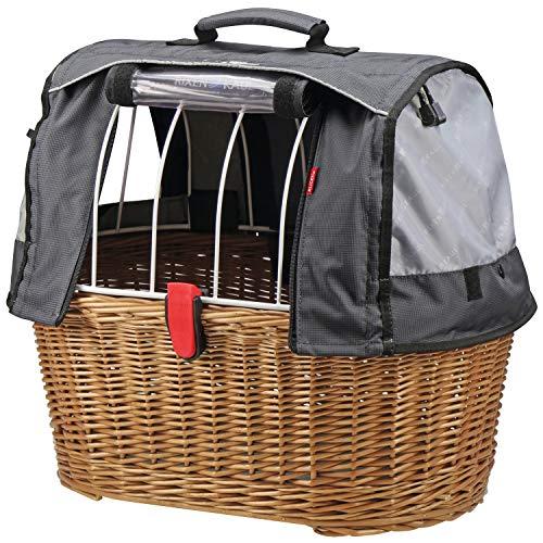 Rixen und Kaul KlickFix Doggy Basket Plus - KorbKlip - Fahrradkorb für Hunde