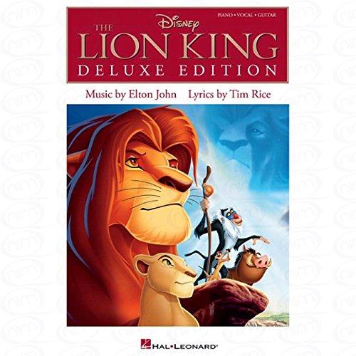 The lion king - Deluxe edition - arrangiert für Songbook [Noten/Sheetmusic] Komponist : JOHN ELTON