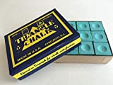 Triangle 12morceaux de craie pour billard/snooker Vert clair
