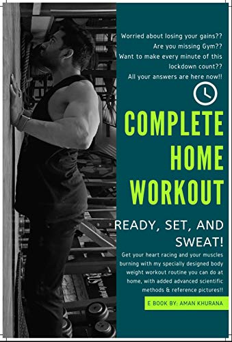 COMPLETE HOME WORKOUT: With Muscle Building Educational Content (Aman Khurana Fitness
