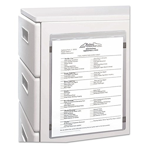 C-Line 83911 Magnetic Shop Ticket Holder, Super Heavy, 15-Inch, 8 1/2 x 11, 15/BX