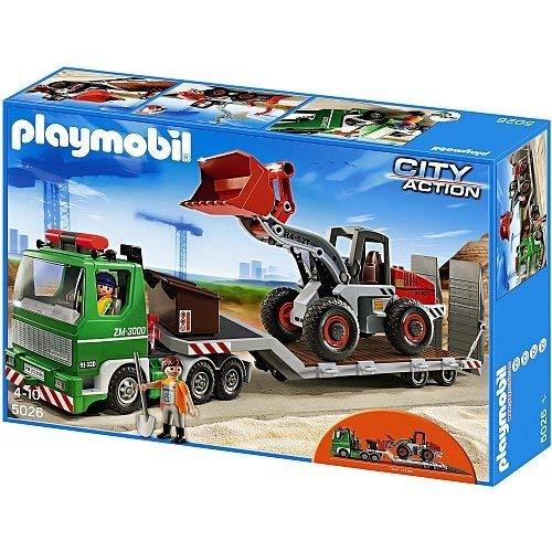 Playmobil 5026 Tieflader mit Radlader