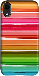 Macmerise IPCIXRPMI0402 Colourful Brush Strokes - Pro Case for iPhone XR - Multicolor (Pack of1)