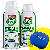 Enerzona Enervit Omega 3 RX, 2 confezioni da 120cpr + portapillole Vitaminstore ●Integratore Alimentare a base di olio… - 51R Vf24GXL. SS166